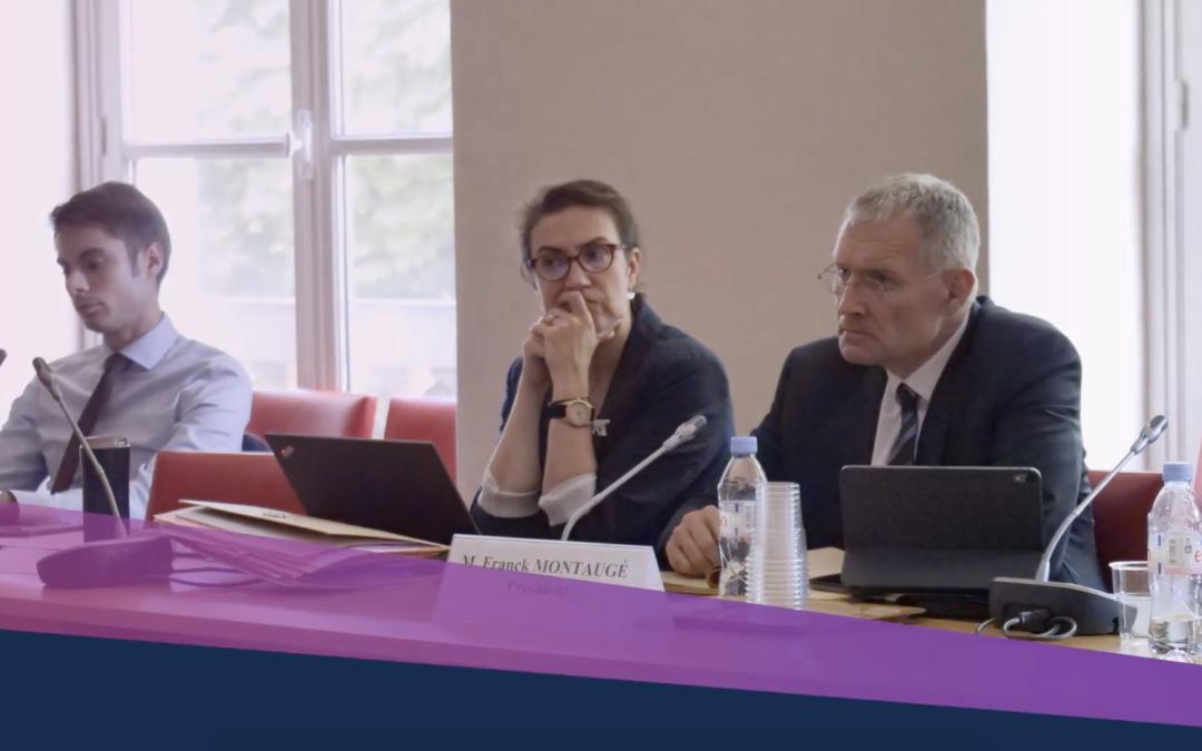 Rencontre entre Commission d'enquête sur la souveraineté numérique et Tecwec System